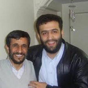 احمد قدمی و احمدی نژاد