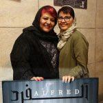 آناهیتا همتی و رابعه اسکویی