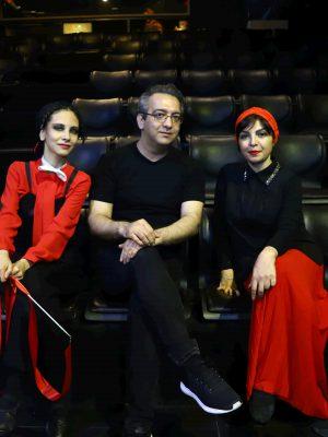 نیلوفر لاری پور بابک صحرایی رازیما میرزایی