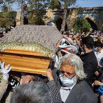 مراسم خاکسپاری محمدعلی کشاورز