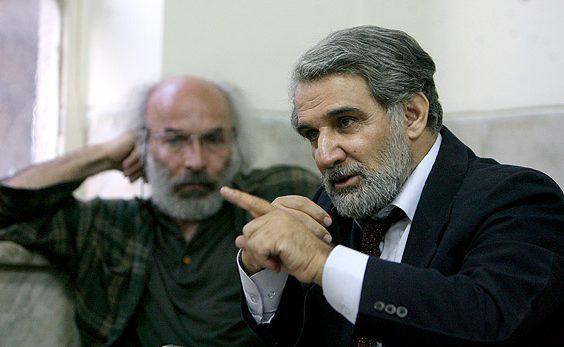 مهدی هاشمی و کیانوش عیاری