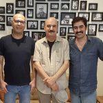 شهاب حسینی و ایرج طهماسب