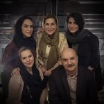 ایرج طهماسب و همسر و دخترهایش