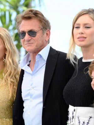 شان پن و دخترش