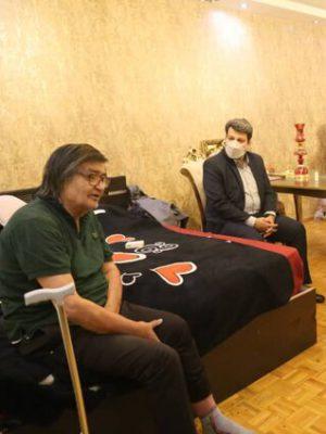 عیادت رئیس سازمان سینمایی از رضا رویگری